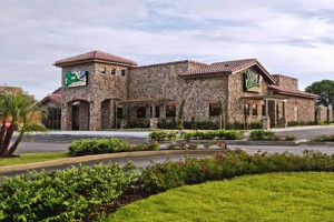 The island's third Olive Garden is underway in Barceloneta.