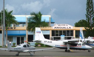 Anguilla's Clayton J. Lloyd International Airport (formerly known as Wallblake Airport) has a 5,400-foot runway. (Credit: anguilla-beaches.com)