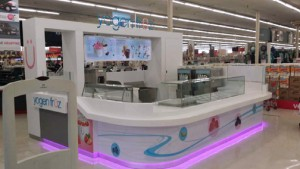 The new Yogen Früz inside Kmart is one of several in-store locations planned to open inside the retailer.