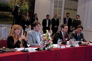 TRB President Javier Rúa-Jovet (third from left) will take over the presidency of REGULATEL next year.