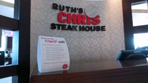 Claro is providing telecom services to Ruth Chris Steak House in Hato Rey.
