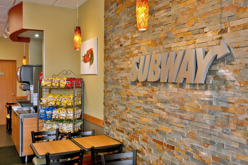 Subway opens local shops featuring 'metro décor news