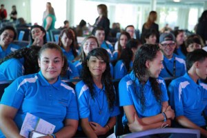 Twenty-eight students were selected for the program from the Petra Corretejer School in Manatí and 29 from the Conchita Cuevas School in Gurabo.