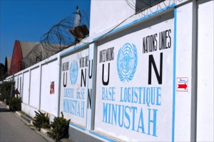 Port-au-Prince headquarters of the United Nations Stabilization Mission in Haiti (MINUSTAH), whose first chief was Chile's current ambassador to the United States, Juan Gabriel Valdés. (Credit: Larry Luxner)