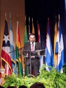 Telecom Regulatory Board President and REGULATEL Chairman Javier Rúa-Jovet.