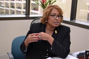 SBA Region II Administrator Kellie LeDet during her first visit to Puerto Rico and the USVI last week.