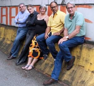 From left: Ricardo Rivera-Badia, Jose Augusto-Acevedo, Ines V. Mongil, Orlando Borras and Farrique Pesquera.