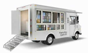 """As part of the project, Google will roll out mobile, """"food truck""""- type stores to allow customers to check out the devices before buying them."""