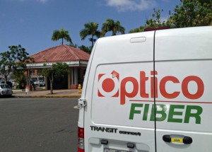 Optico Fiber is available at 24 San Juan-area neighborhoods.