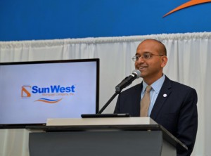 Sun West CEO Pavan Agarwal