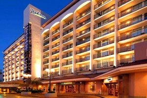 The Radisson Ambassador Plaza Hotel & Casino is a full-service hotel and casino on Ashford Avenue. (Credit: www.radisson.com)