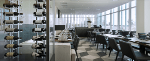 The eatery, which has a capacity for 116 customers split between the main dining room and the bar.