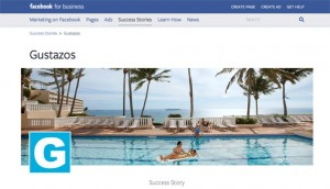 Gustazos achieved a click-through rate of 4.7 percent on its El Conquistador offer marketed on Facebook.