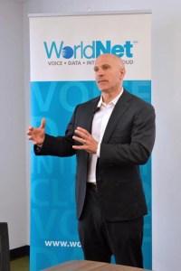 WorldNet's CEO David Bogaty.
