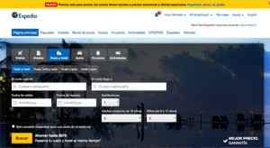 Expedia.com announced Tuesday the launching of a Spanish-language version of its U.S. website.