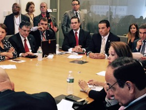 Dozens of Puerto Rico and stateside business leaders gathered to discuss common issues.