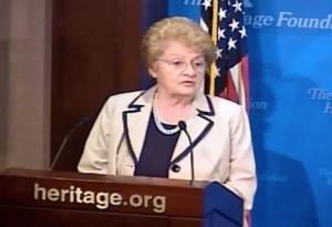 Anne O. Krueger, senior research professor of international economics at Johns Hopkins University