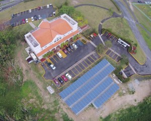 The project consists of 292 solar panels of 250 watts each, which will produce approximately 117,238 Kw. hour per year.