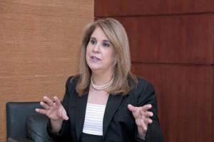 Eva González, leader of Aon Hewitt's talent and organizational effectiveness practice.