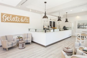 Customers get an hour of free parking at the Marriott while they visit the new Gelato & Co. ice cream shop.