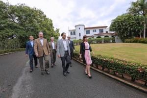 """From left: RSM Executives Hugo Burgos, José """"Pepe"""" Gómez, Raúl Hernández, José Huyke, Rodrigo Morell and Doris Barroso."""