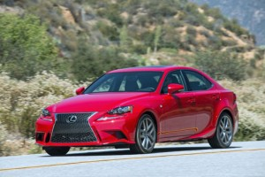 Lexus IS now features the models 200t, 300 AWD and 350.