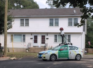 """""""Street View"""" will only show the same roads that would be observed when driving or walking down a street."""