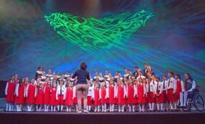 The San Juan Children's Chorus performed last weekend at the Bellas Artes Fine Arts Center in Santurce.
