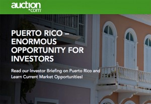 """Auction.com is advertising the upcoming property sale as """"an enormous opportunity for investors."""""""