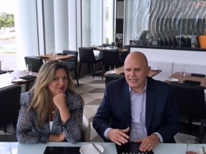 Marnie Marquina, director of marketing and sponsorship and José A. Ayala-Bonilla, general manager of the mall discuss first-year results.