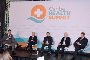 A panel discussion during last year's Caribe Health Summit.