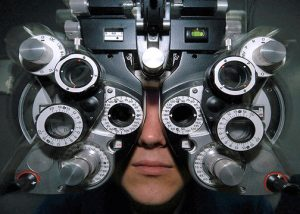The bill recommends that the legislature only maintain restrictions on optometrists to utilize and prescribe medications for treatment and diagnosis that are necessary to ensure patient health and safety. (Credit: Wikipedia)