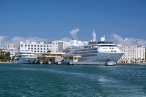 Puerto Rico is on its way to break cruise passenger records for the second time in three years, tourism executives said. (Credit: P.R. Tourism Co.)
