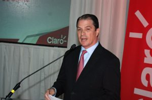 Claro President Enrique Ortiz de Montellano.