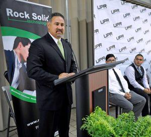 Angel Pérez-Galarza, vice president of Rock Solid Technologies.