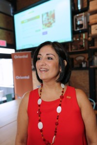 Idalis Montalvo, vice president of marketing and public relations for Oriental.
