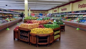 The fruit and vegetables section boasts more than 450 varieties, 150 of them organic products.