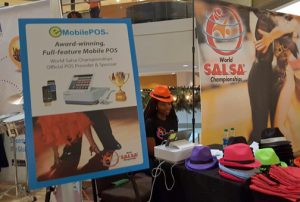 The software for tablet and mobile point-of-sale was used for admission and retail merchandise sales at the World Salsa Championships and other events in 2017 and beyond, company executives said.