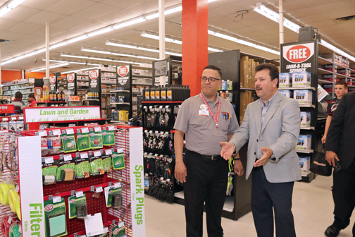 AutoZone opens $1M 'Mega Hub' store in Carolina