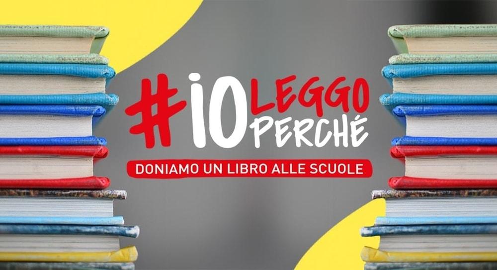 #IOLEGGOPERCHÈ, un milione di libri regalati alle scuole italiane