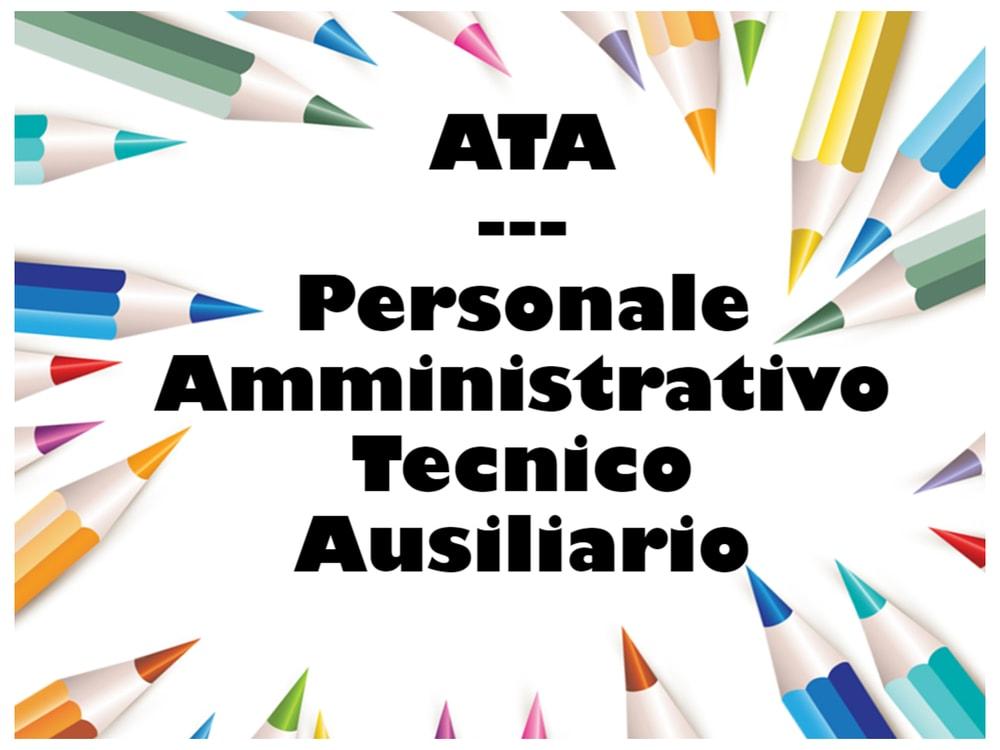 Personale ATA: Area A, AS, B, D e profili professionali