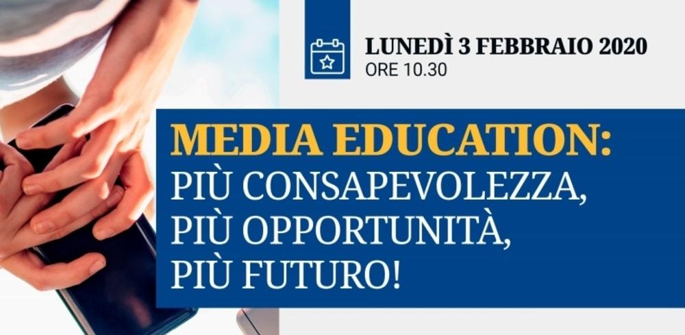 Lunedì 3 febbraio il convegno sull'educazione digitale a Roma