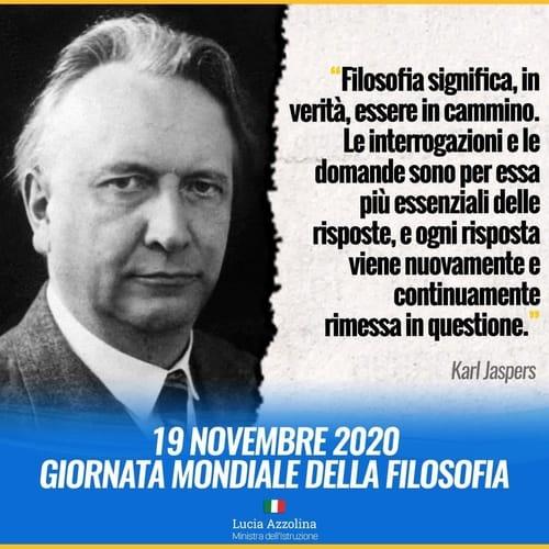 Giornata Filosofia 2020 Azzolina
