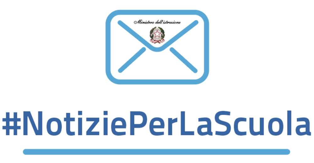 NotiziePerLaScuola, la newsletter settimanale del Ministero dell'Istruzione