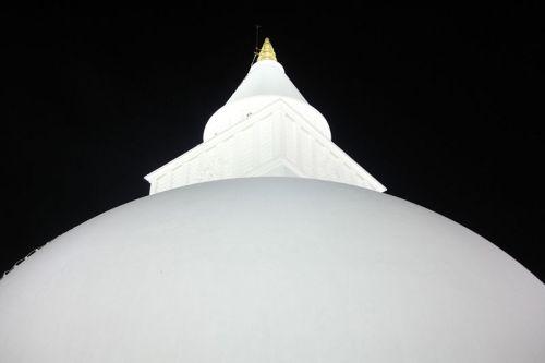 Kiri Vehera at Kataragama at night