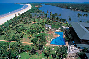 Bentota Beach Hotel View From Above