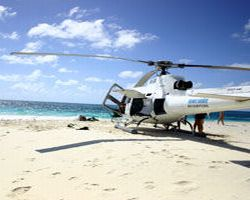 private-helicopter-tour-great-barrier-reef-island-snorkeling-and-in-cairns
