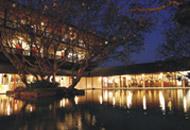Bentota Beach Hotel by night