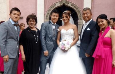 亀田和毅 結婚相手 顔写真