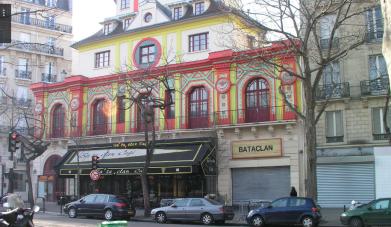 パリ フランス 爆発 銃撃 殺人事件 位置